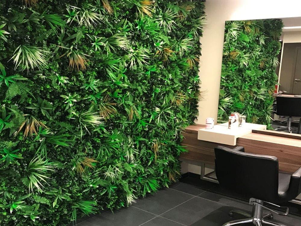 zelena stena Bonsai Trzin