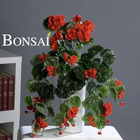 umetne rože balkonsko cvetje rože za balkon umetne geranije