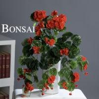 balkonske rože - umetne geranije