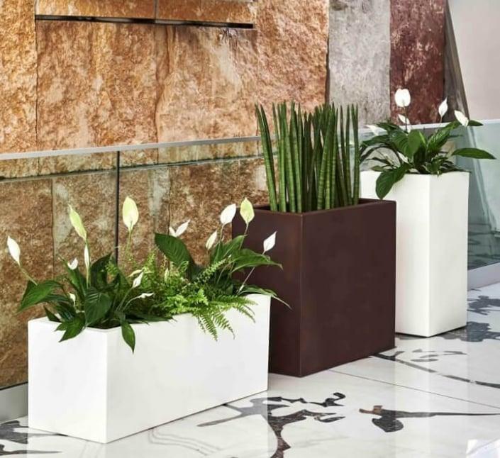 cvetlična korita Teraplast višja in nižja zunanja
