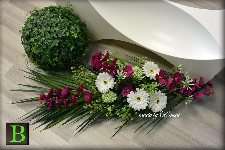 Aranžmani za groblje od umjetnog cvijeća