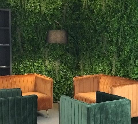 zelena stena green wall